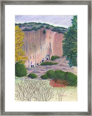 Bandelier 2004 Framed Print by Harriet Emerson