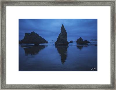 Bandon Blues Framed Print by Peter Coskun