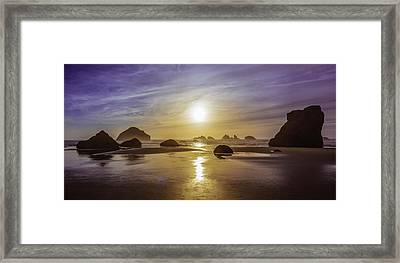 Bandon Glow Framed Print