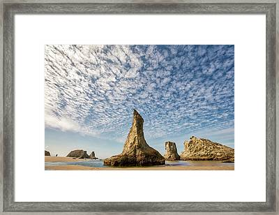 Bandon Sea Stacks Framed Print