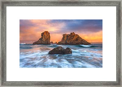 Bandon Sunrise Framed Print by Darren White
