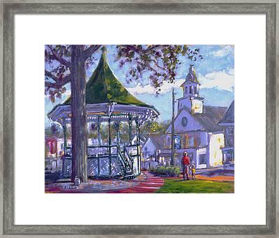 Bandstand Framed Print