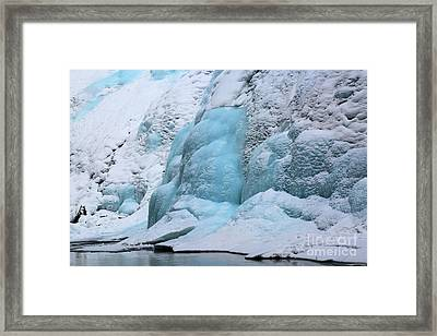 Banff Blue Brilliance Framed Print by Adam Jewell