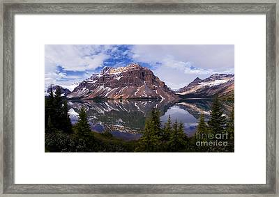 Banff - Bow Lake Framed Print