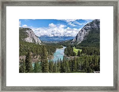Banff - Golf Course Framed Print by John Johnson
