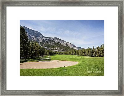 Banff Springs No 6 Framed Print