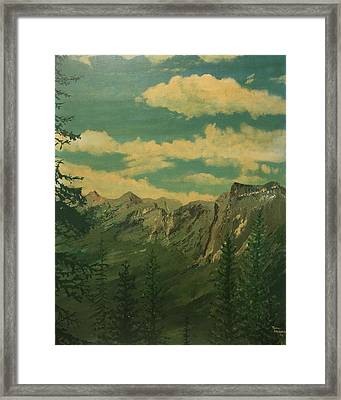 Banff Framed Print by Terry Frederick