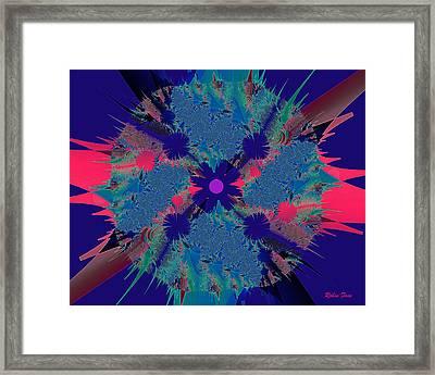 Bang Framed Print by Robin Foss