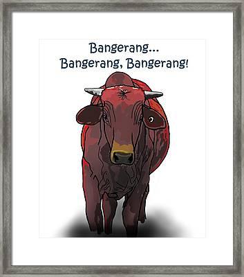 Bangerang Framed Print
