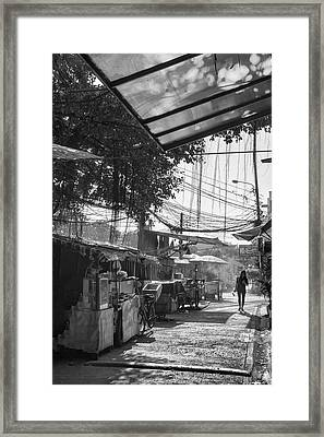 Bangkok Back Streets Framed Print by Georgia Fowler