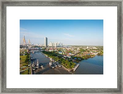 Bangkok Senic Framed Print