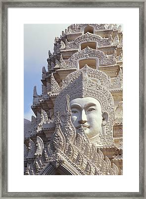 Bangkok, Wat Ratchapradt Framed Print