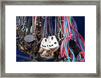 Framed Print featuring the photograph Bangles And Beads by Michael Flood
