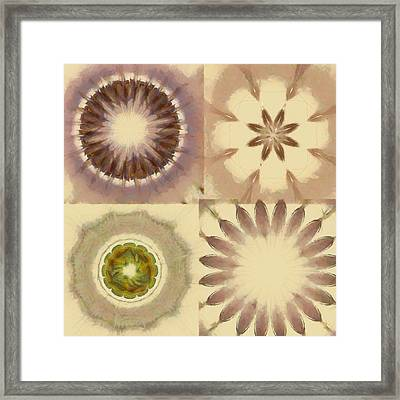 Bangles Proportion Flowers  Id 16165-105758-18940 Framed Print by S Lurk