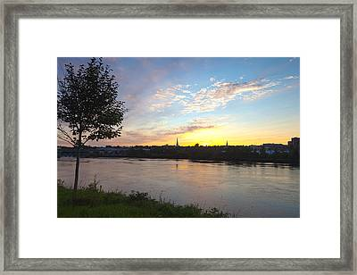 Bangor Sunset Framed Print