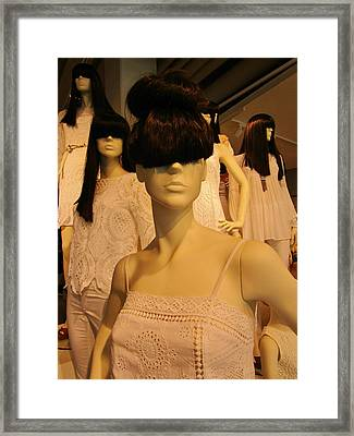 Bangs Framed Print