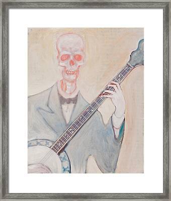 Banjo Bones Framed Print