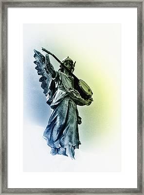 Banjo Heaven Framed Print by Bill Cannon