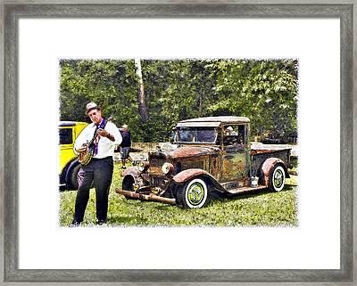 Banjo Man Framed Print by Patricia Stalter