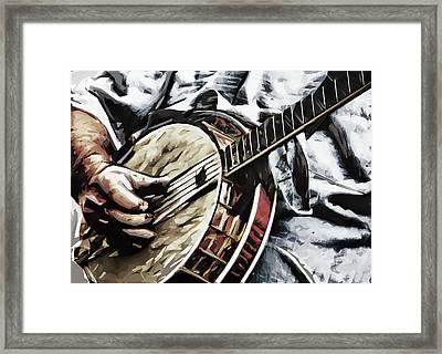 Banjoed Framed Print by Tilly Williams