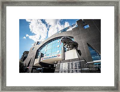 Bank Of America Stadium Carolina Panthers Photo Framed Print by Paul Velgos