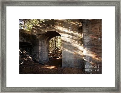 Bankhead Ruins Framed Print