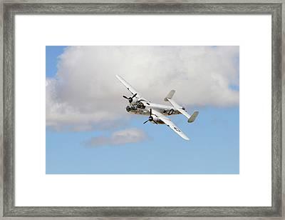 Banking B-25 Framed Print by Shoal Hollingsworth