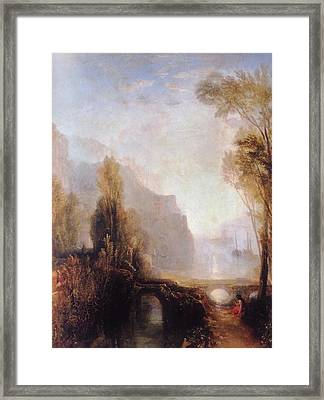 Banks Of The Loire Framed Print