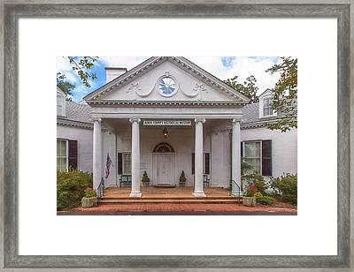 Banksia Mansion - Aiken, Sc Framed Print