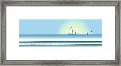 Banner Framed Print by Steve Smyth
