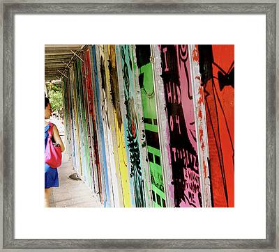 Banners Framed Print by Alison Mae Photography