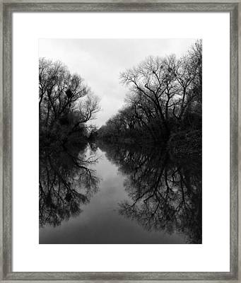 Bannon Slough Framed Print