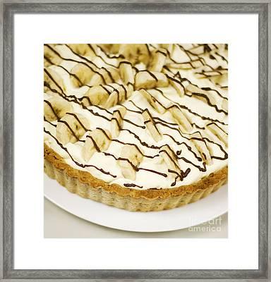 Banoffi Pie Framed Print
