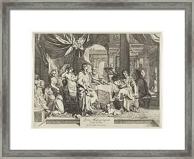 Banquet Of Cleopatra Framed Print