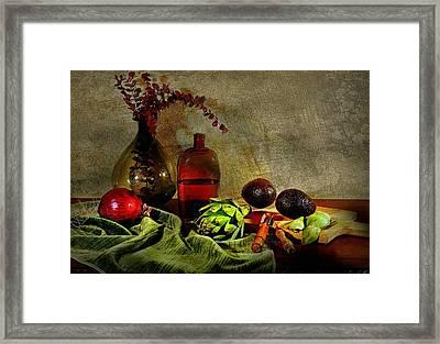 Banquet Sideboard Framed Print