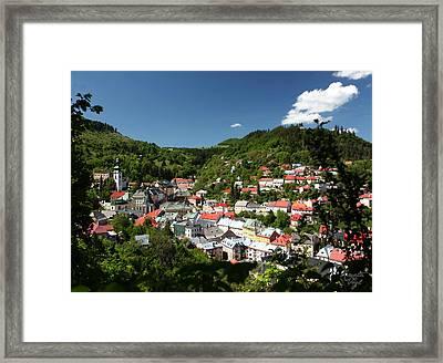 Banska Stiavnica Framed Print by Renata Vogl