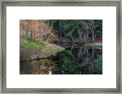 Bantam River 2017 Framed Print by Bill Wakeley