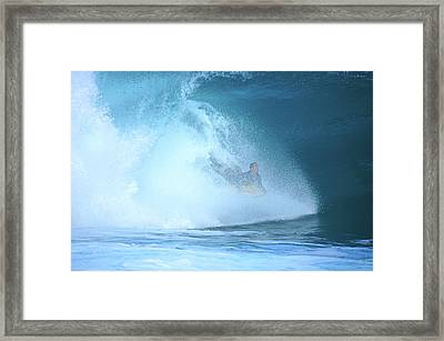 Banzai Blowout Framed Print by Kevin Smith