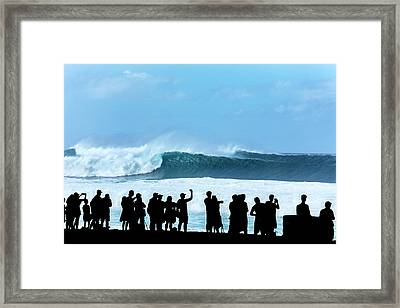 Banzai Shadowland Framed Print by Sean Davey