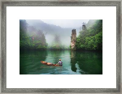 Framed Print featuring the photograph Baofeng by Wade Aiken