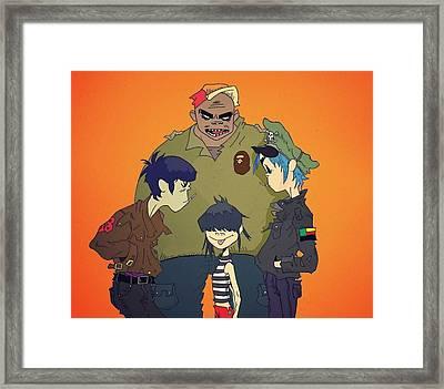 bAPES Framed Print