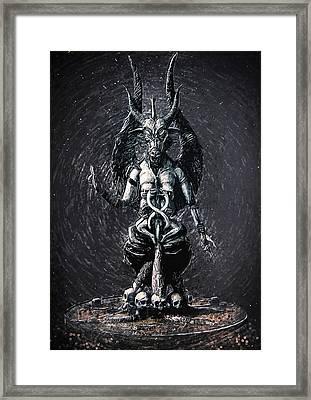 Baphomet Framed Print