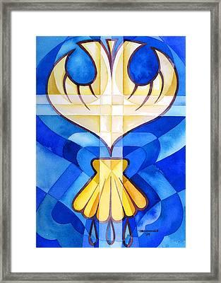 Baptism Framed Print by Mark Jennings