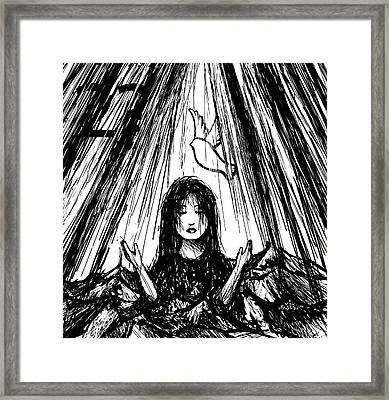 Baptized Framed Print