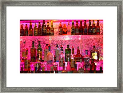Bar Bubbles In New Orleans Framed Print