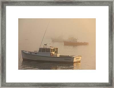 Bar Harbor Fleet Framed Print