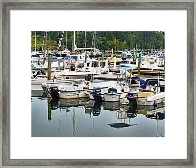 Bar Harbor, Maine No. 3 Framed Print by Sandy Taylor