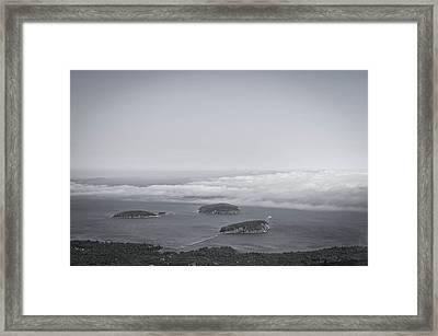 Bar Harbor Maine Framed Print
