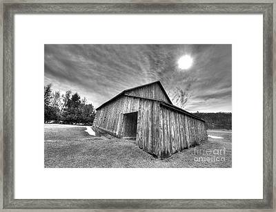 Bar In Sleeping Bear Dunes Framed Print by Twenty Two North Photography
