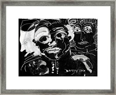 Bar Scene Framed Print
